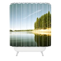 Bree Madden Down By The Lake Shower Curtain