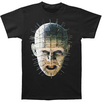 Hellraiser Men's  Color Close-Up T-shirt Black