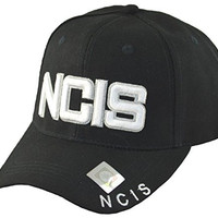 Naval Criminal Investigative Service NCIS Cap Hat-black-adjustable