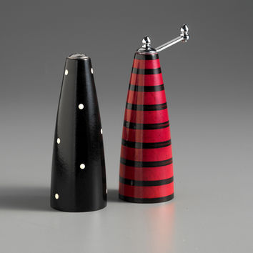 Shop Red Salt And Pepper Shakers On Wanelo