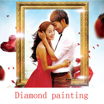 Make your own DIY Diamond Painting 100% full square drill Cross Stitch Embroidery rhinestones personal picture Photos Custom cx