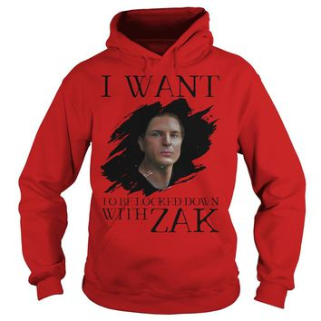 I Want Be Locked Down With Zak Bagans Ghost Adventures Shirt Hoodie