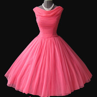 Short red prom dress/ ball gown prom dress 2014 with a v back