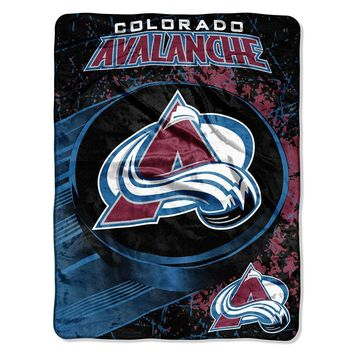 Colorado Avalanche NHL Micro Raschel Blanket (46in x 60in)