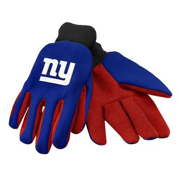 New York Giants - Adult Two-Tone Sport Utility Gloves