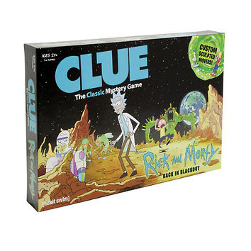 Clue: Rick And Morty Edition Board Game