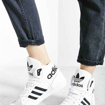 adidas Extaball Sneaker- Black & White