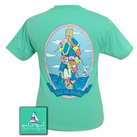 Girlie Girl Originals Preppy Bouy Cool Mint T-Shirt