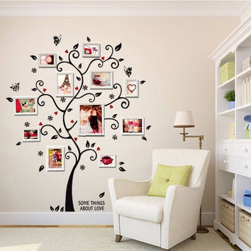 Removable Photo Tree Wall Decals