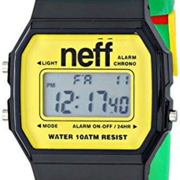 Neff Unisex NF0226RAST Flava XL Surf Digital Display Chinese Automatic Two Tone Watch