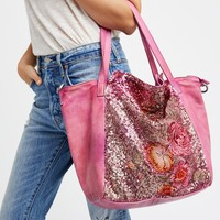 Free People Gardenia Washed Tote