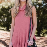 Hill and Valley Top in Rose