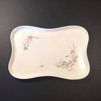 Limoges Dresser Tray/Fine Porcelain Early Twentieth Century Vanity Tray/Antique Wedding Gift