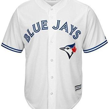 Toronto Blue Jays Mlb Majestic Men's Cool Base Replica Jersey Big & Tall Sizes