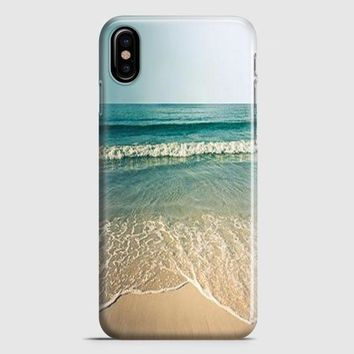 Beach Photography Vintage iPhone X Case