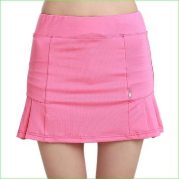 Women's Table Tennis Skirt Breathable Badminton Volleyball Running Golf A-line Skirts Good Quality