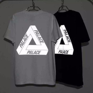 New Men's 3m Reflective Palace Skateboards T Shirt Good Quality 100% Cotton Hip Hop Palace T Shirt Men Palace Tee Tshirt