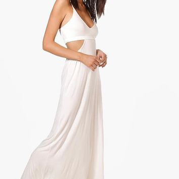 Milly Cut Out Strappy Maxi Dress | Boohoo