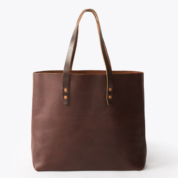 The Vintage Tote Bag - Brown