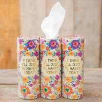Just be Happy Today Car Tissue
