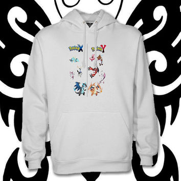 Pokemon X vs Pokemon Y by christmasHoodie , hoodies, custom hoodie, ... :D