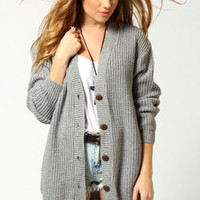 Nicola Marl Fisherman Knit Cardigan