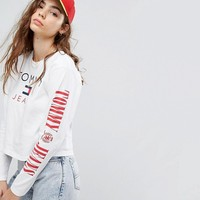 Tommy Jeans 90s Capsule Top with Arm Logo at asos.com