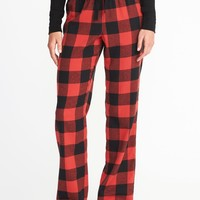 Printed Flannel Sleep Pants for Women |old-navy