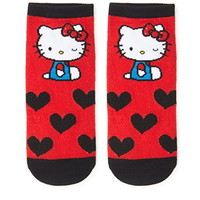 Hello Kitty Heart Socks