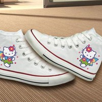 ONETOW Hello Kitty Converse Shoes