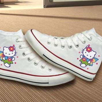 DCKL9 Hello Kitty Converse Shoes