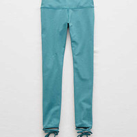 Aerie Move Ankle Wrap Legging, Teal Lawn