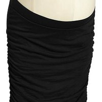 Maternity Ruched Jersey Skirts