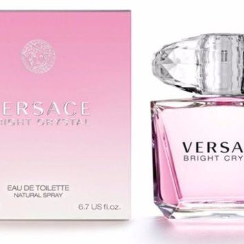 Versace Bright Crystal for Women by Versace eau de toilette 6.7oz free shipping