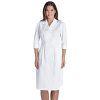 Prima by Barco Uniforms Women's Embroidered Tuck Waist Dress