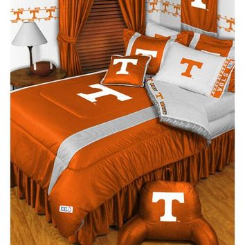 NCAA Tennessee Volunteers Bedding Set College Football Bed