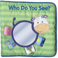 Who Do You See? (My First Taggies Book)