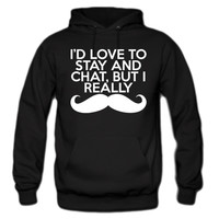 I Really Mustache Hoodie