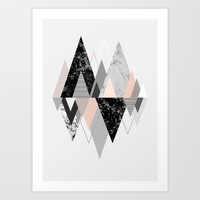 Graphic 117 X Art Print by Mareike Böhmer Graphics