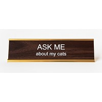 Epic Desk Nameplates | Assorted Sayings