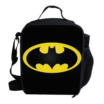 Batman Dark Knight gift Christmas Cool Insulated Lunch Bag For Kids Batman Lunch Bag Thermal For Food To School Girls Boys AT_71_6