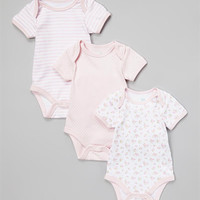 3-Pack Bodysuit Dots and Stripes – Vitamins Baby