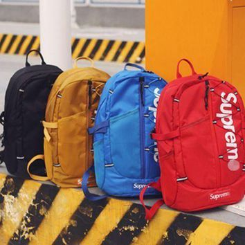 'supreme'' Fashion Sport Laptop Bag Shoulder School Bag Backpack