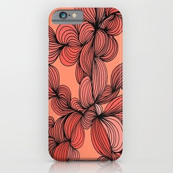 Retro Orange iPhone & iPod Case by DuckyB (Brandi)