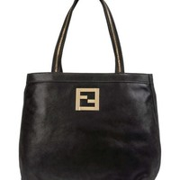 FENDI Large leather bag