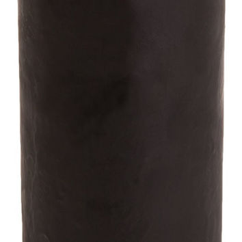 Classic Hurricane Pillar Candles (Pair) | Black
