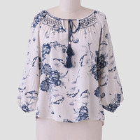 Pathways Floral Blouse