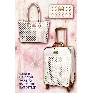 Galaxy Stars 3PC Set | Designer Overnight Bag Signature Set for Women