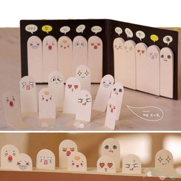 200 Pages Ten Fingers Sticker Bookmark Tab Flags Memo Marker Sticky Notes