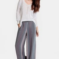 Ticket to Nepal Wide-Leg Pants